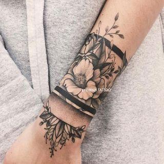 HANZ HAZEL - Flower Waterproof Temporary Tattoo