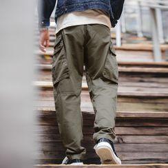 Maden - Pocket-Detail Cargo Pants