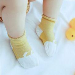 Cloud Femme - Baby Set of 3: Animal Print Socks