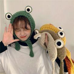 Whoosh - 青蛙针织无边软帽