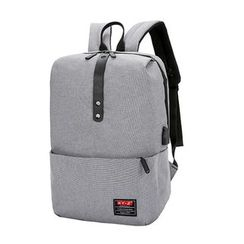 Endemica - Nylon Laptop Backpack With USB Charging Port