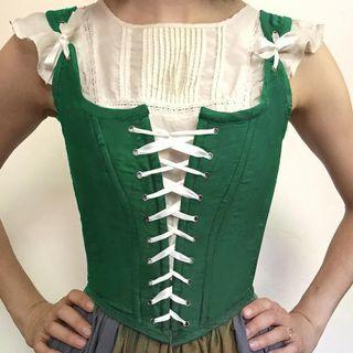 Femme Cradle - Lace-Up Corset Top