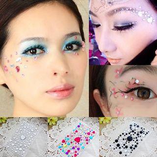 Aimo - Rhinestone Eye Makeup Stickers