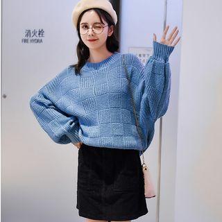 Miahynn - Puff-Sleeve Sweater
