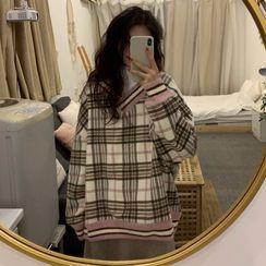 Sienne - Plaid Sweater