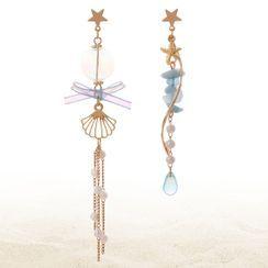 Phooka - Asymmetrical Drop Earring