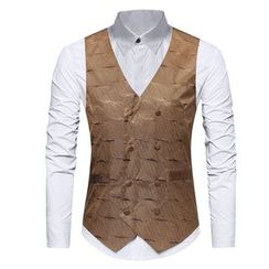Sheck - Double-Breasted Vest