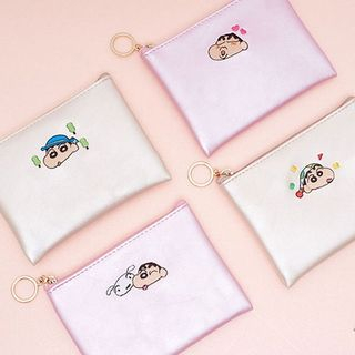 BABOSARANG - 'CRAYON SHINCHAN' Embroidered Coin Wallet