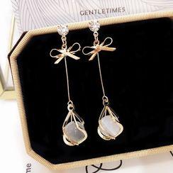 Hansha - Boucles d'oreilles perles