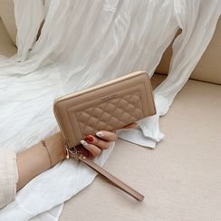 Kimoment - Quilted Long Wallet
