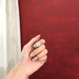 YANYUS - 缀饰指甲戒指