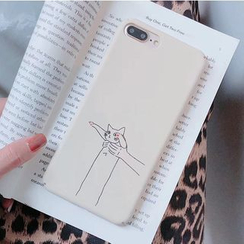Aion - Cat Print Mobile Case - iPhone XS Max / XS / XR / X / 8 / 8 Plus / 7 / 7 Plus / 6s / 6s Plus