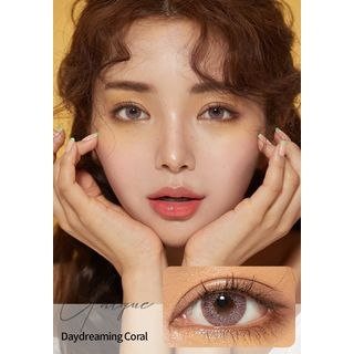 GLOW LOUDEY - Unique Monthly Color Lens #Daydreaming Coral