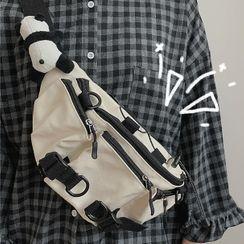 BANGGIRL(バングガール) - Drawcord Canvas Sling Bag