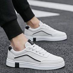HANO - Color Block Canvas Sneakers