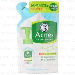 Rohto Mentholatum - Mousse nettoyante anti-acné - recharge