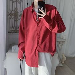 Skeggi - Pocket Detail Oversize Shirt