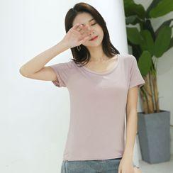 LaRos - Short-Sleeve Plain T-Shirt