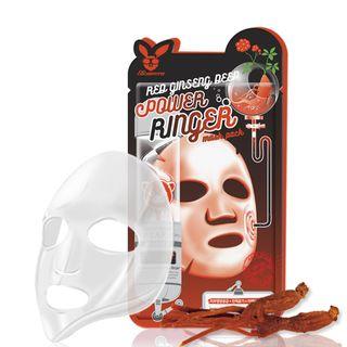 Elizavecca - Red Ginseng Deep Power Ringer Mask Pack 1pc