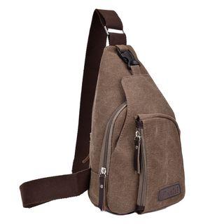 Golden Kelly - Canvas Sling Bag