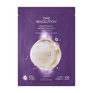 MISSHA - Time Revolution Night Repair Probio Ampoule Sheet Mask