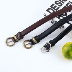 Rofuka - Retro Faux Leather Belt