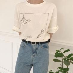 Tanee - Bedrucktes T-Shirt