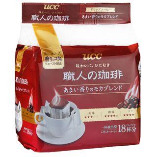 UCC - Craftsman Mocha Fragrant Aroma Drip Ground Coffee 7g x18