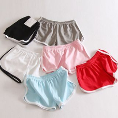 Lacyland - 滚边运动短裤