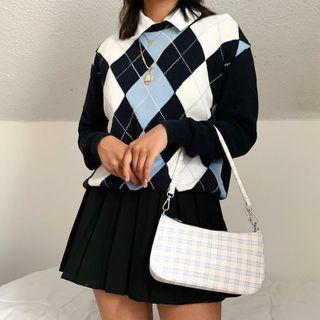 BrickBlack - Argyle Sweater