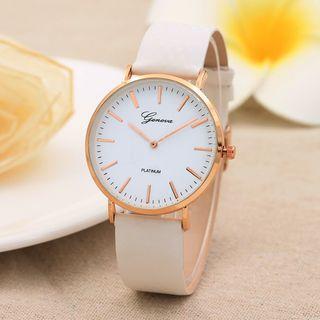 MODIYA - 仿皮带式手表
