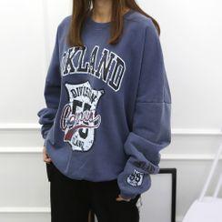 DANI LOVE - Printed Oversized Sweatshirt