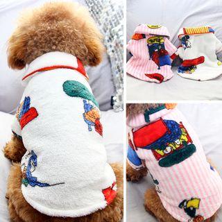 Salonga - Printed Collared Pet Top