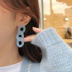 Coolgirl - Chain Drop Ear Stud