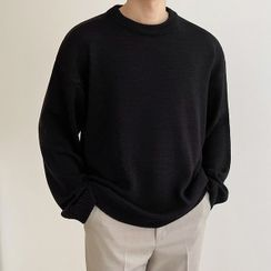 Seoul Homme - Colored Boxy Sweater