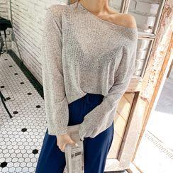 DEEPNY - Round-Neck Summer Knit Top