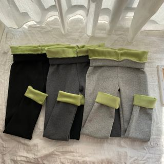 Bodacious! - High-Waist Fleece-Lined Tights