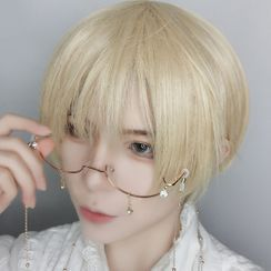 Aynu(アイヌ) - Short Full Wig / Hair Care Set