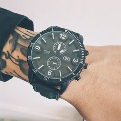 InShop Watches - Faux Leather Strap Watch
