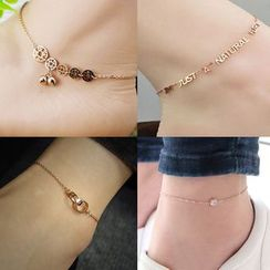 MOMENT OF LOVE - Chain Anklet (Various Designs)