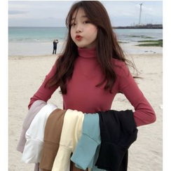 Whoosh - Turtleneck Long-Sleeve Top
