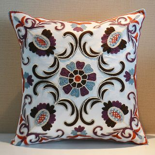 Tooya - Embroidered Fabric Cushion Cover