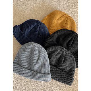 JOGUNSHOP - Colored Rib-Knit Beanie