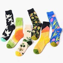 Shippo - Patterned Socks