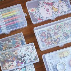 Nina's House - Plastic Transparent Storage Box