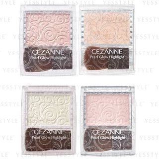 CEZANNE - Pearl Glow Highlight - 2 Types