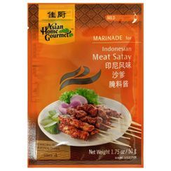 Asian Home Gourmet - Marinade for Indonesian Meat Satay 50g (Serves 4)