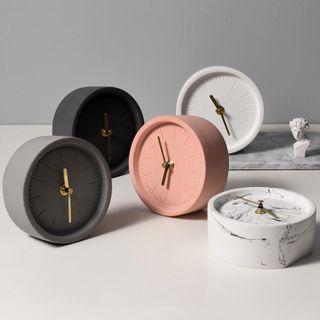 miss house - Concrete Alarm Clock