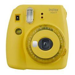 Fujifilm - Fujifilm Instax Mini 9 Instant Camera (Clear Yellow) (Limited Edition)