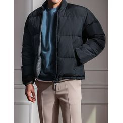 STYLEMAN - Stand-Collar Duck Down Padded Jacket